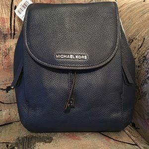 Michael Kors Riley leather backpack